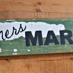 Small Business Sign, Sign for Farmer's Market