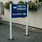 Directional Post & Panel Sign