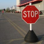 Temporary Portable Stop Signs