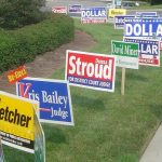 Yard Signs for Political Campaigns