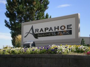 Business Park Custom Monument Sign