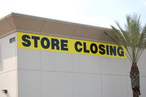 Store Closing Banner, Temporary Outdoor Banner