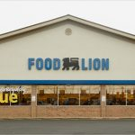 Food Lion Grocery Store Channel Lettering Store Front Sign With Logo