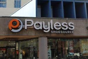 Custom Lit Business Exterior Sign- Payless