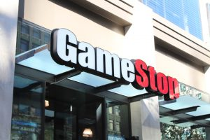 Gamestop LED Custom Lit Storefront Business Sign
