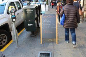 Custom Sidewalk Chalkboard A-Frame Sign