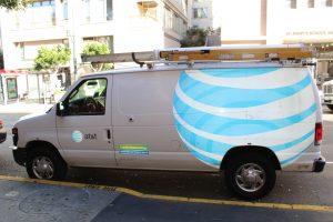 Cable & Satellite Installation Van Wrap