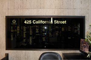 Business Lobby Sign, Business Directory Sign