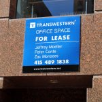 Large Commercial Real Estate Sign