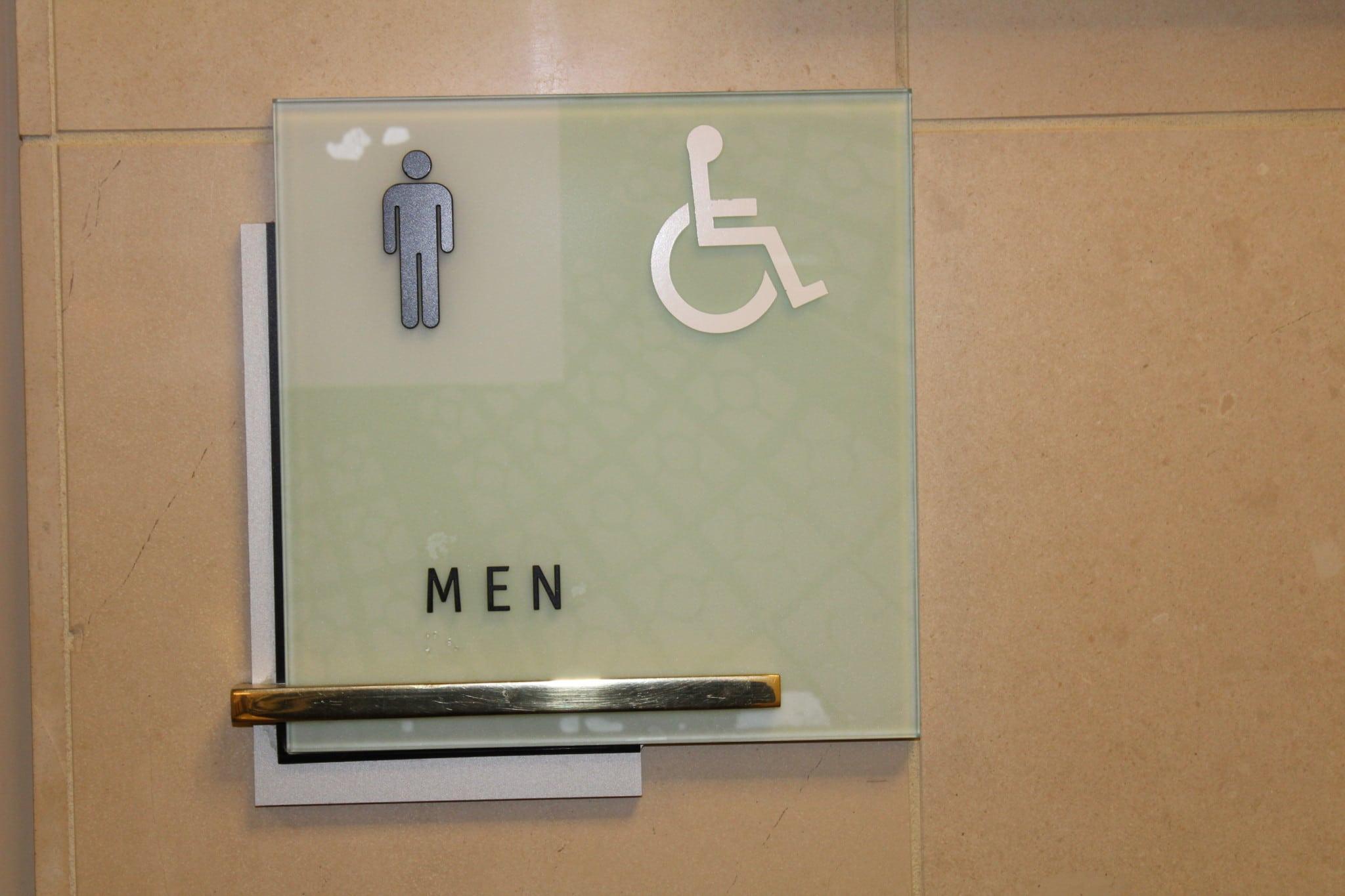 Bathroom Sign Graphics ada bathroom signs ~ dact