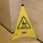 Temporary Sign- Wet Floor Sign