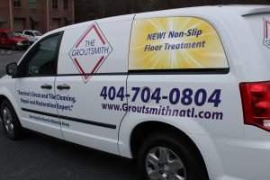 Custom Van Wrap- Grout