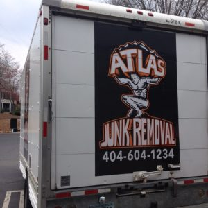 Custom Junk Removal Truck Graphics