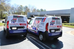 Commercial Fleet Van Wraps