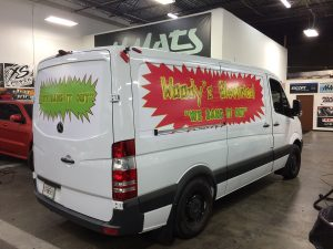 Wild Custom Van Wrap