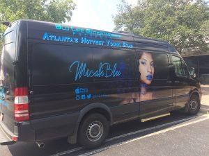 Custom Van Wrap Musician