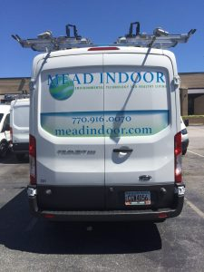 Attractive Custom Van Window Wrap
