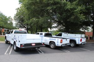 Work Truck Fleet Wraps