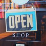 Standard Business Open Sign for Door or Window