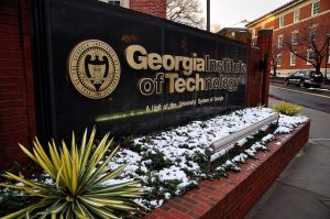 Custom Georgia Tech Monument Sign