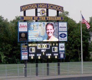 Baseball Scoreboard, High School Football Scoreboard