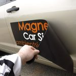 Removable Magnetic Car Sign