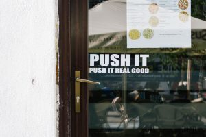 Funny Business Door Signs