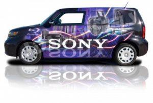 Promotional Van Wrap