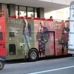 Custom Bus Wrap With Perforated Window Graphics